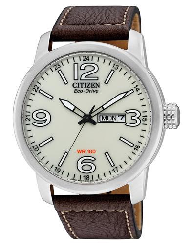 Citizen-Eco-Drive-Herrenuhr-Herren-Uhr-mit-Tag-Datum-BM8470-03AE-NEU