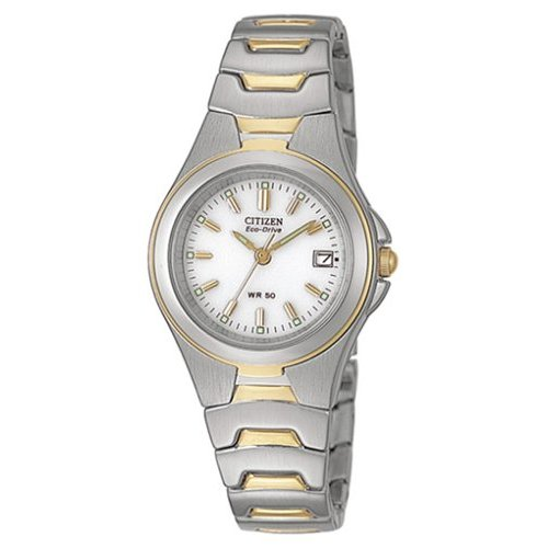 CITIZEN-Eco-Drive-Damenuhr-EW0324-55A-bicolor-NEU